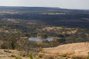 View from Enchanted Rock