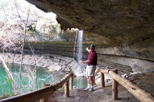 George at Hamilton pool