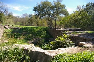 Grist mill ruins
