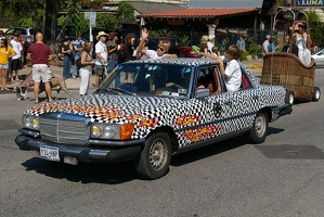Checkerboard Mercedes