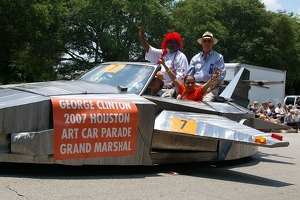 Jet Car with Grand Marshal George Clinton