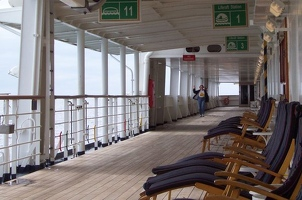 Lower promenade deck