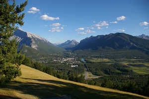 Banff from Mt. Norquay overlook