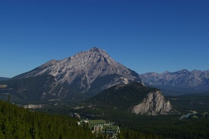View from Banff Gondola