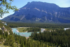 Bow River valley