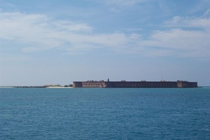 Approaching Fort Jefferson