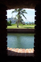 View out fort window