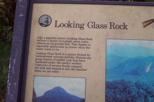 Information on Looking Glass Rock