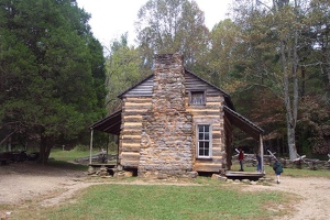 Old cabin in Cades Cove