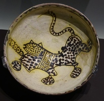 Very old cat bowl, 10th century from Iran