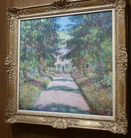 The Main Path at Giverny, 1900, Claude Monet