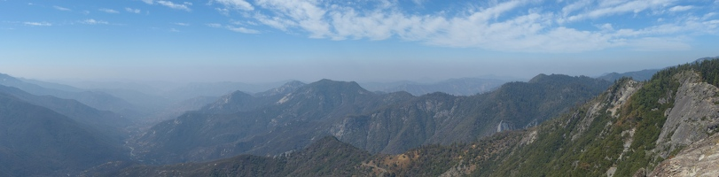 Panoramic from Moro Rock