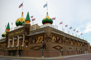 Corn Palace front and side