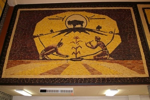 Corn Palace interior detail