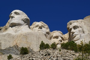 Mt. Rushmore and Crazy Horse