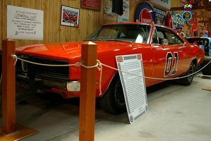 "The General Lee from the ""Dukes of Hazzard"" show"