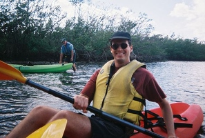 Kevin in kayak