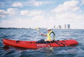 Kay in kayak