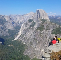Another view of Half Dome from Glacier Point