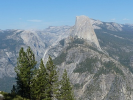 View of Half Dome from Washburn Point