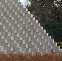 Portion of Four-Sided Pyramid by Sol LeWitt