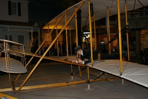 Wright brothers' airplane