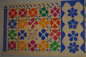 Cut-outs by Matisse