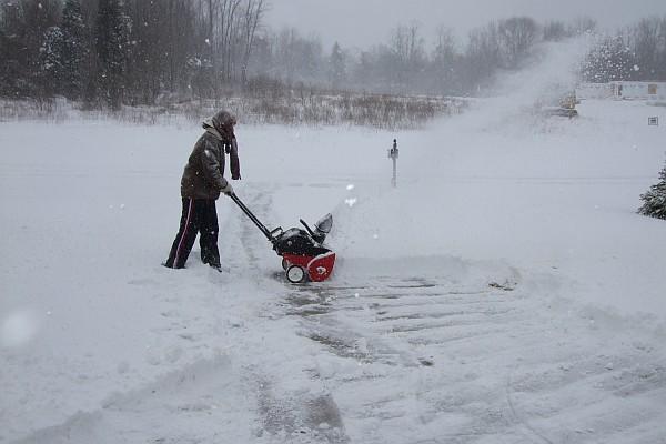 Blizzard in Ohio